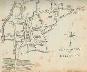 Plan of Dolgellau