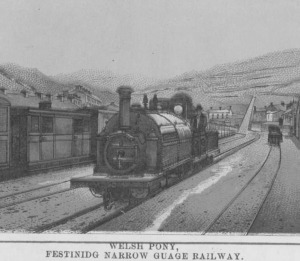 The Welsh Pony- Ffestiniog Narrow Gauge Railway