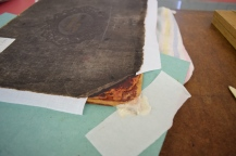 New linen and corner repair