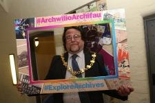 Ruthin Town Mayor, Geraint Woolford