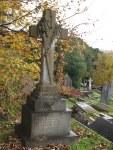 Captain Hutton's grave