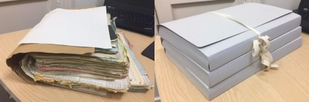 Patient Files Before and After